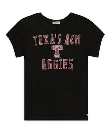 Texas A&M `47 Brand Women`s Gamma Tee - Front Nightshade