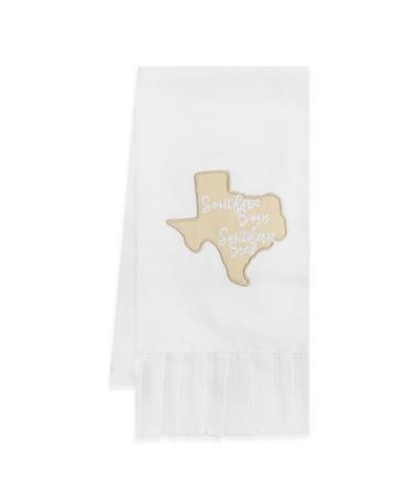 Southern Texas Ruffle Hand Towel