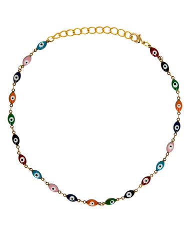 Evil Eye Choker Multi