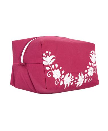 Nativa Carry All Powder Bag Maroon/White