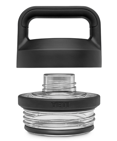 Yeti Rambler Bottle Chug Cap Black