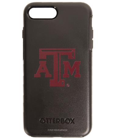 OtterBox Texas A&M iPhone 8 Plus/7 Plus Symmetry Case Black