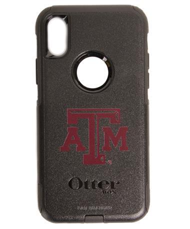 OtterBox Texas A&M iPhone X Commuter Case Black