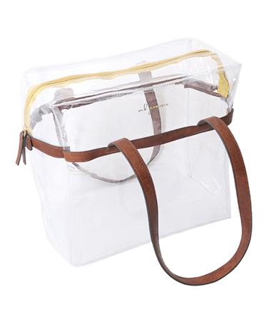 MB Greene Be Clear Tote Clear
