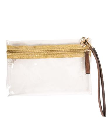 MB Greene Be Clear Wristlet