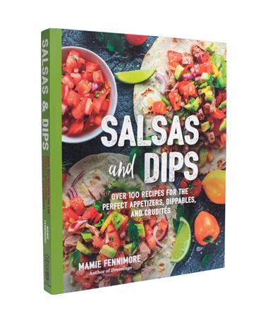 Salsas And Dips Recipe Book - Front Multi