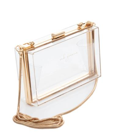 MB Greene Box Purse Clear