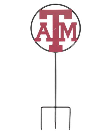 Texas A&M 25 Inch Yard Decor Black