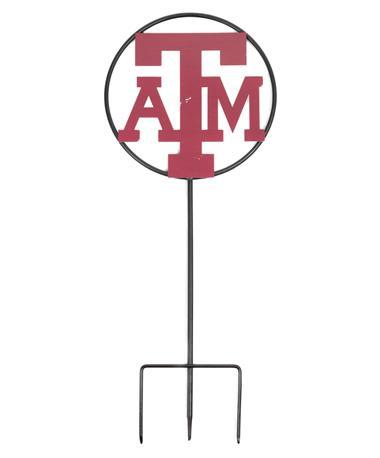 Texas A&M 25 Inch Yard Decor Black
