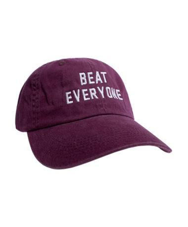 Charlie Southern Beat Everyone Hat - Front Maroon