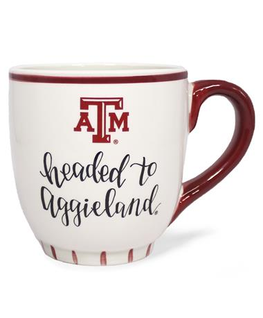 Texas A&M Headed to Aggieland Mug Maroon