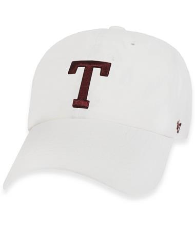 Texas A&M `47 Brand Block T Clean Up Cap - White - Front White
