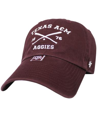 Texas A&M '47 Brand Crossing Bats Clean Up Cap