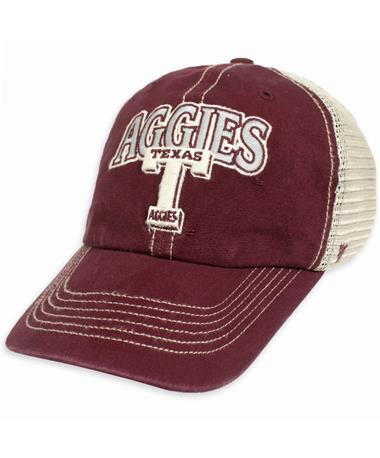 Texas A&M '47 Brand Vault T Tuscaloosa Clean Up Cap