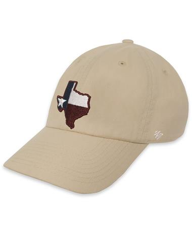 Texas A&M `47 Brand Lone Star OHT Cap - Natural - Angled Natural