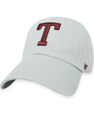 Texas A&M `47 Brand Block T Clean Up Cap - Grey - Front Grey