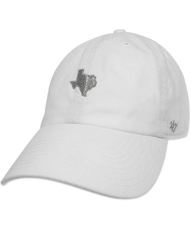 State of Texas `47 Brand Clean Up Cap - White - Front White
