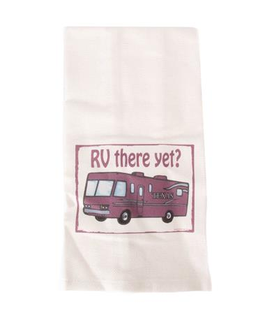 Jazzy Artz RV There Yet Tea Towel Natural
