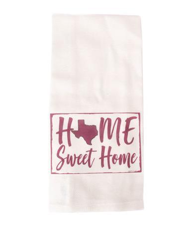 Jazzy Artz Home Sweet Home Tea Towel Natural