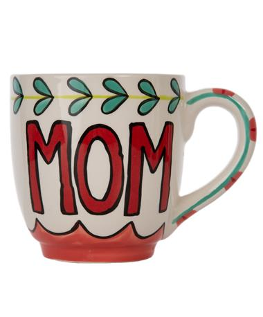 Mom Maker of Memories Jumbo Mug - Mom Front Maroon