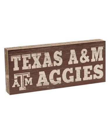 Texas A&M Aggies Mini Table Top Sign Maroon/White