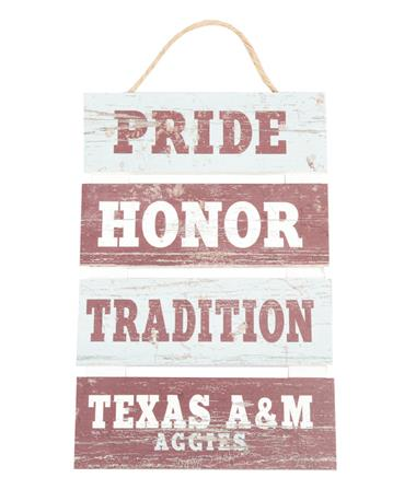 Pride Honor Tradition Ladder Pallet Grey/Maroon