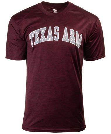 Texas A&M Tonal Blend Basic Tee Maroon