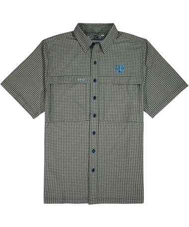 Texas A&M GameGuard TekCheck Men's Fishing Button Down