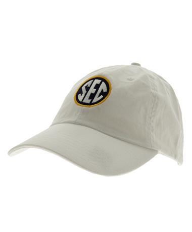 Charlie Southern SEC Logo Hat - White White