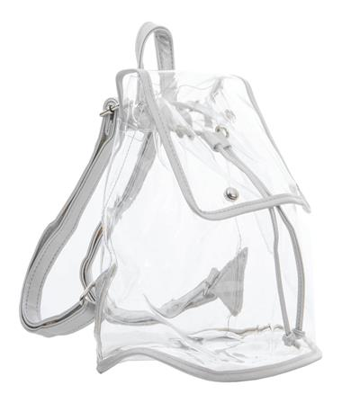 Clear Stadium Backpack-silver Silver