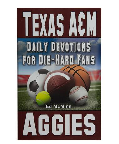 Texas A&M Aggie Daily Devotional - Front Maroon