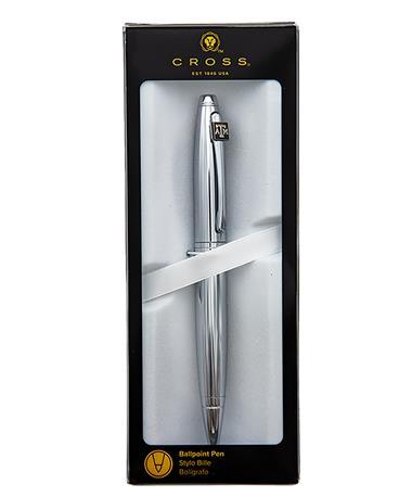 Cross Calais Chrome Ballpoint Pen Silver