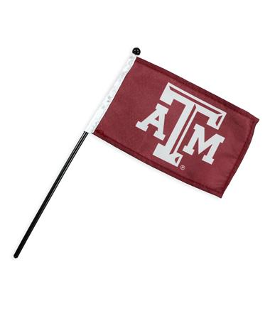 Texas A&M Small Stick Flag