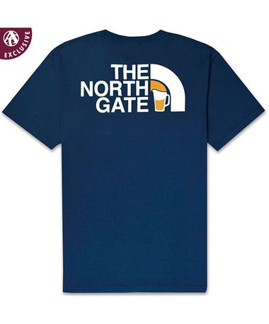 The North Gate Pocket T-Shirt - Back Polo A H