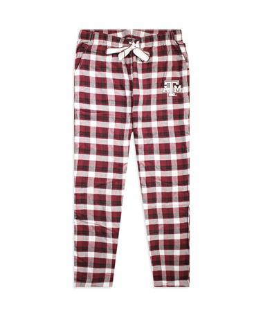 Texas A&M Women`s Piedmont Pajama Pants Maroon/White