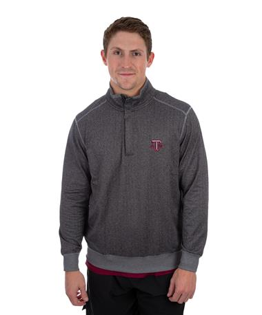Texas A&M Tommy Bahama Pro Form Pullover Grey