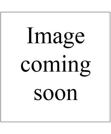Maroon Jon Hart Coated Canvas Wristlet