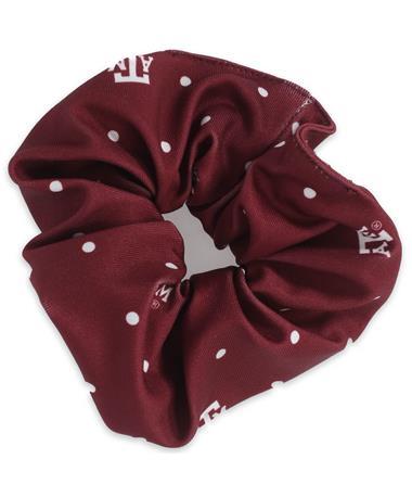 Texas A&M Polka Dot Scrunchie Multi