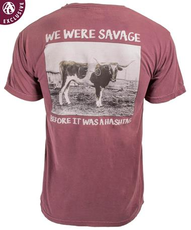 Texas A&M Aggie 13-0 Savage T-Shirt - Back Vineyard