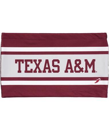 56e491aa1b67e4 Texas A&M League Sublimated Bandeau Top - Front White