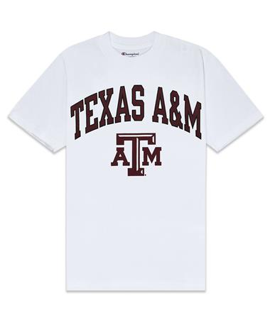 Texas A&M Champion Aggie T-Shirt - Front White