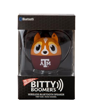 Texas A&M Bitty Boomers Wireless Bluetooth Speakers - Front - Packaging Multi