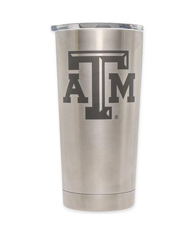 Texas A&M Yeti 20oz Tumbler Silver