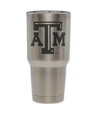 Texas A&M Yeti 30oz Tumbler Silver