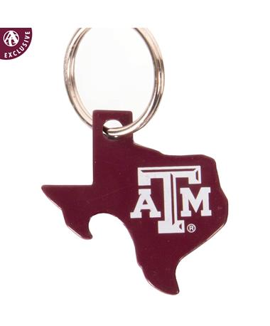 Texas A&M Bottle Opener Keychain