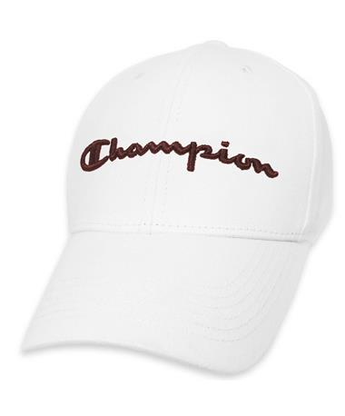 White Champion Cap - Front White