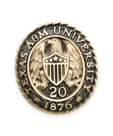 Texas A&M Aggie Ring Crest Paperweight '20
