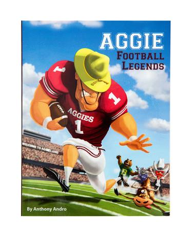 Aggie Football Legends Book - Front Multi