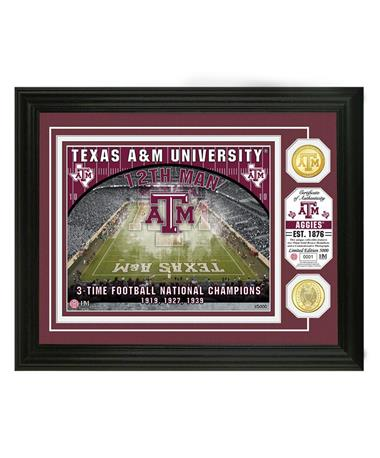 Texas A&M 12th Man Kyle Field Limited Edition Frame Multi