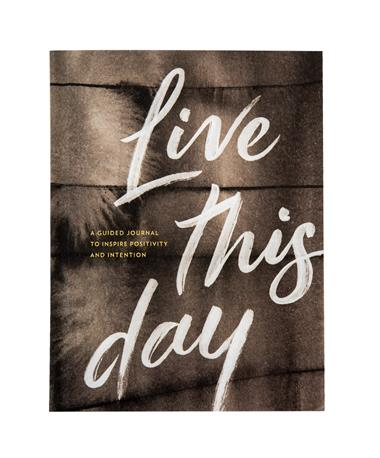 Live This Day Journal - Front Live This Day
